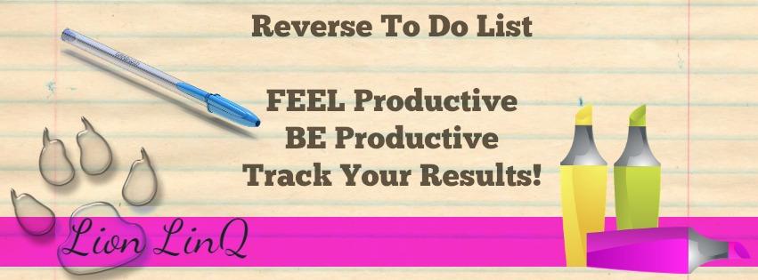 Reverse To Do List Blog Image